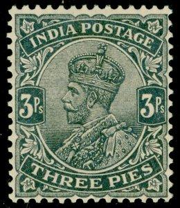 INDIA SG201, 3p slate, M MINT.