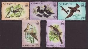 1983 Kiribati Official Set U/M