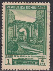 Dominican Republic 430 Church of San Fransisco Ruins 1949