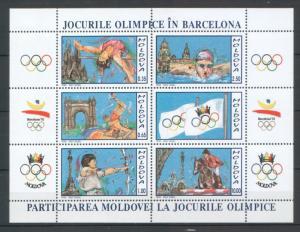 Moldova 1992 Olympic Games - Barcelona
