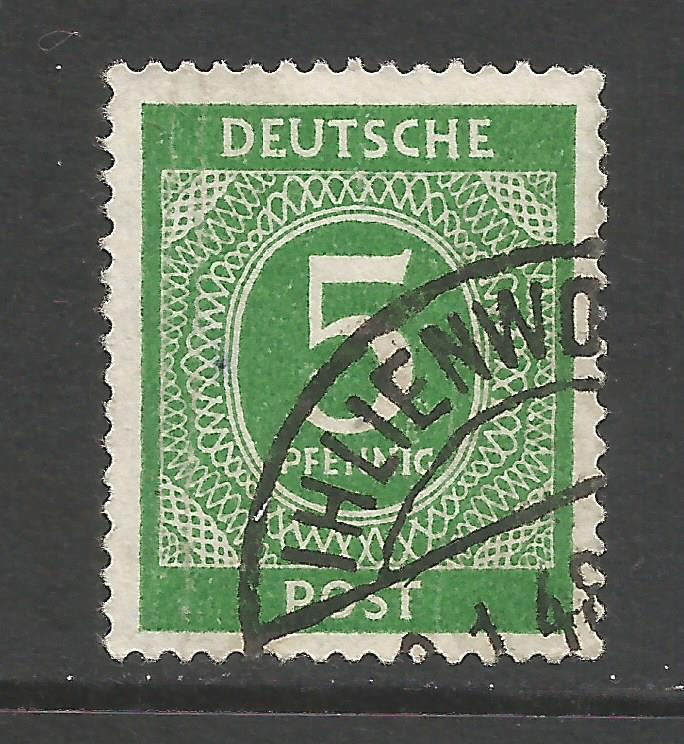 GERMANY 534 VFU Z6704-3