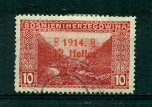 Bosnia & Herzegovina 1914 #B2a U SCV(2020)=$3.75