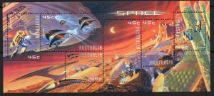 AUSTRALIA SGMS2049 2000 SPACE EXPLORATION OF MARS MNH