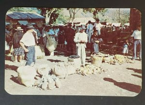 1952 Barranquilla Colombia Croton on Hudson NY Fruit Market RPPC Postcard Cover