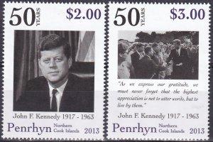 Penrhyn Island #519-20  MNH  CV $8.25 (Z4403)
