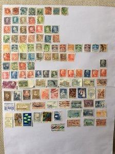 Denmark 100+ stamps - Lot E