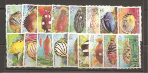 Cocos Islands SC 34-50 Mint Never Hinged