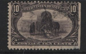 US 290 U HARDSHIPS OF EMIGRATION 1898 SET