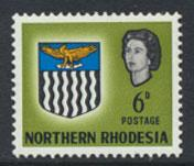 Northern Rhodesia  SG 80  SC# 80 MNH  see detail and scan
