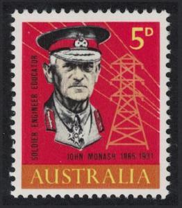 Australia Birth Centenary of General Sir John Monash engineer and soldier SG#378
