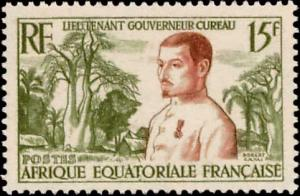 French Equatorial Africa Scott 187 Unused lightly hinged.