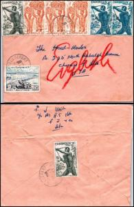 Goldpath: Cameroon cover 1957, to U.S.A.   _CV23_P9