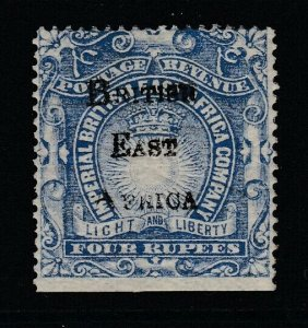 British East Africa, Sc 51 (SG 46), MLH