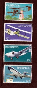 Barbados 384-87, F-VF, MH
