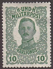 Austria MB1 Emperor Karl I 1918