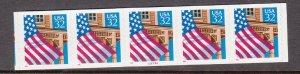 USA PNC SC# 2915A FLAG OVER PORCH $0.32c PL# 22222A -10X10 PNC5 S.A.MNH