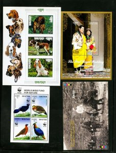 Bhutan Mint Stamp Collection 1960 to 2014