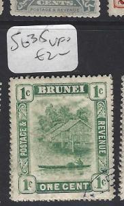 BRUNEI  (P2608B)  RIVER 1 C     SG  35       VFU