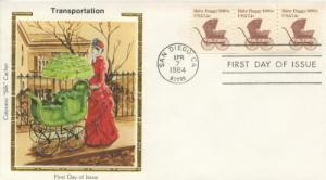1984 Baby Buggy 1880s (Scott 1902) Colorano FDC