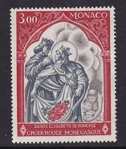 Monaco  #721   MNH  1969  Red Cross Monaco St Elisabeth of Hungary