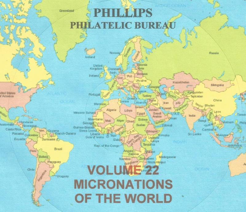 Micronations of the World - CD Catalogue - 2016