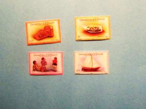 Grenadines of St. Vincent - 519-22, MNH Set. Handcrafts. SCV - $1.50