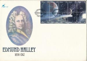 South Africa Ciskei stamp Halleys Comet minisheet on FDC Cover 1986 WS201857