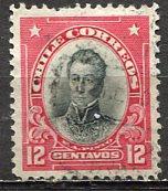 Chile; 1911; Sc. # 103; O/Used Single Stamp