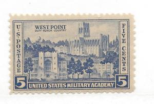 United States, 789, Army Single, MNH