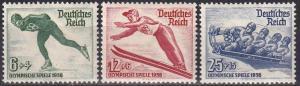 Germany #B79-81  MNH  CV $55.00  Z706