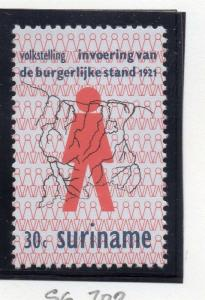 Surinam 1971 Early Issue Fine Mint Hinged 30c. 170069