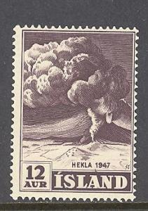 Iceland Sc # 246 mint never hinged (RS)