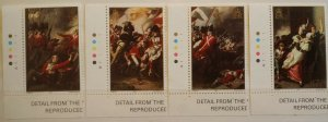 Jersey 1981 200th Anni of Battle over Jersey Major Peirson Death Stamps