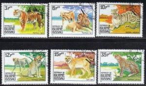 GUINEA-BISSAU SC# 561-66 **CTO** 1984    SEE SCAN