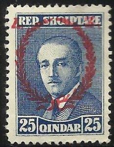 Albania 1927 Scott# 202 MH