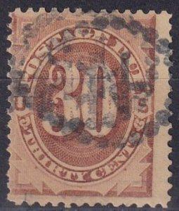 US  #J6 Used CV $65.00 (Z3830)