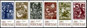 STAMP STATION PERTH Faroe Islands #115-120 HA3 Complete Booklet MNH CV$30.00