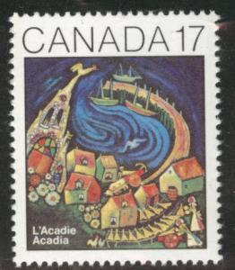 Canada Scott 898 MNH** 1981 Acadian congress