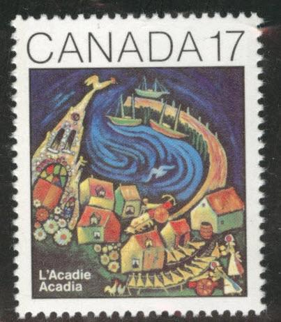 Canada Scott 898 MNH** 1981 Acadian congress