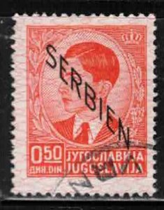 SERBIA Scott # 2N2 Used - With Overprint