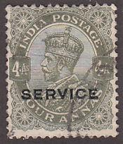 India O85 Hinged Used 1935 King George V O/P