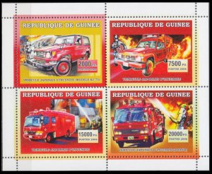 2006 Guinea 4437-40KL fire trucks in japan 12,00 €​​​​​​​