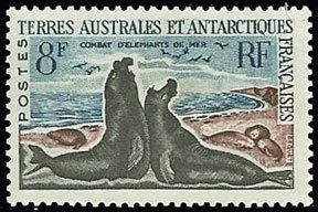 Scott #22 Fighting Seals MNH