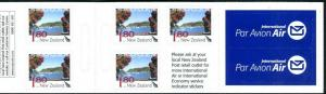 New Zealand 2009 - Tourist Attractions Landscapes Booklet Sc 2258 - MNH
