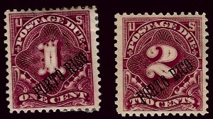 Puerto Rico J1-J2 Mint F-VF hr/thin spots SC$42.50...Collectors unite!