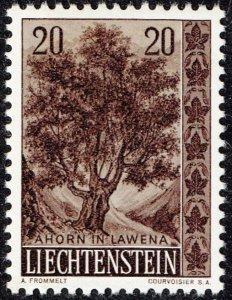 Liechtenstein Stamp 1958 Trees and Bushes MH/OG STAMP 20 RP