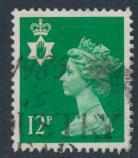Great Britain Northern Ireland SG NI35 SC# NIMH18  Machin 12p Used  see scan