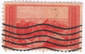 United States, Scott # 741,  Used