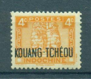 French Offices in China Kwangchowan sc# 142 mlh cat value $.35