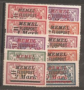 Memel  SC   C20-9  Mint   Hinged